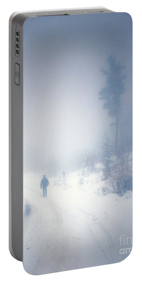 Storm Portable Battery Charger featuring the photograph Into The Storm by Tara Turner