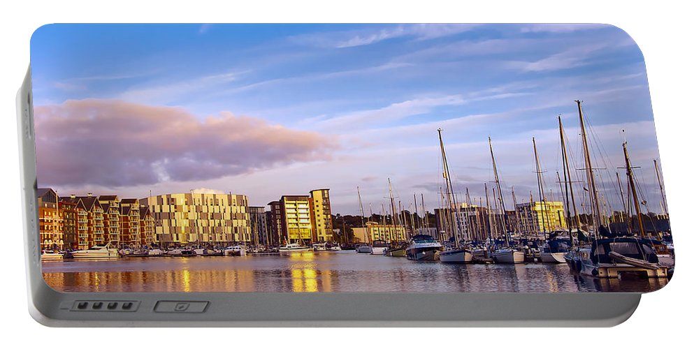 Aqua Portable Battery Charger featuring the photograph Ipswich by Svetlana Sewell