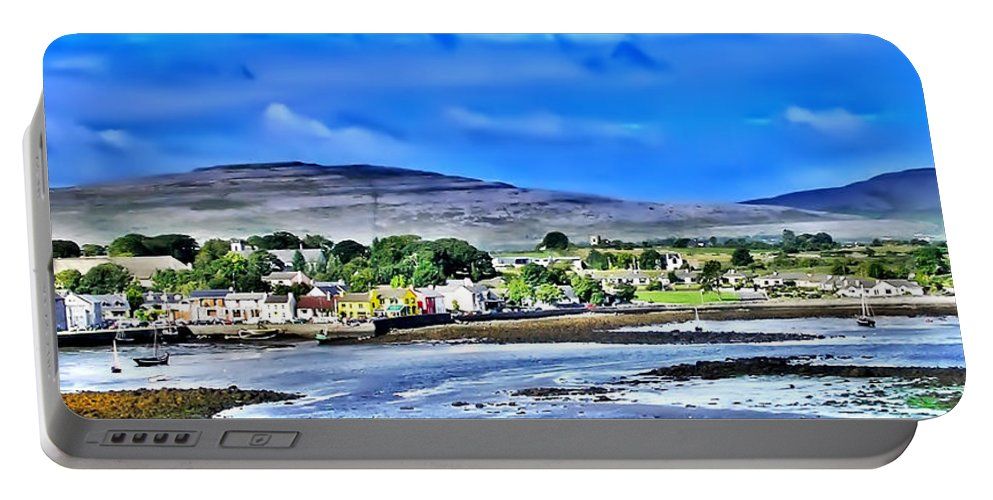Ireland Portable Battery Charger featuring the photograph Ireland By The Sea by Bill Cannon