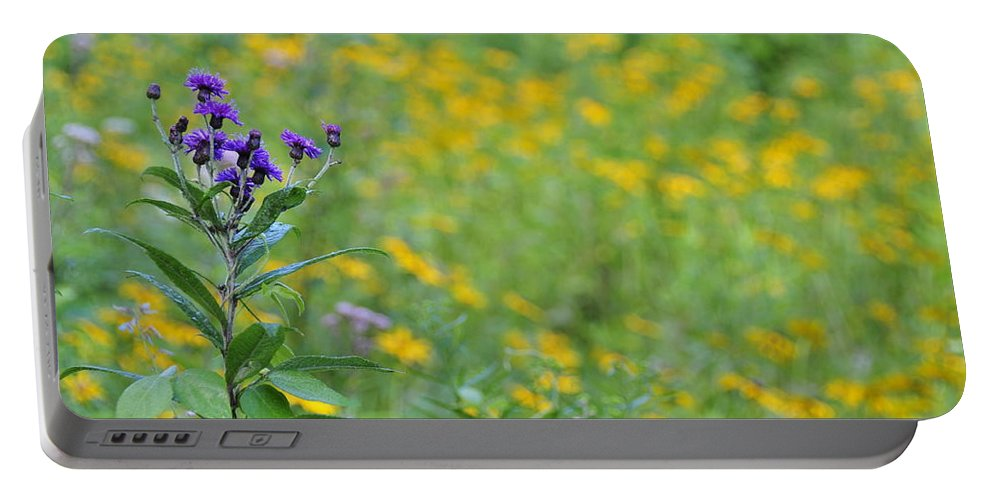 Ironweed Portable Battery Charger featuring the photograph Ironweed by David Arment