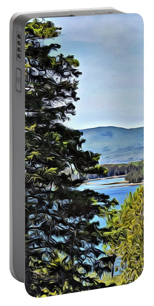Islesboro Portable Battery Charger featuring the photograph Islesboro View by Modern Art