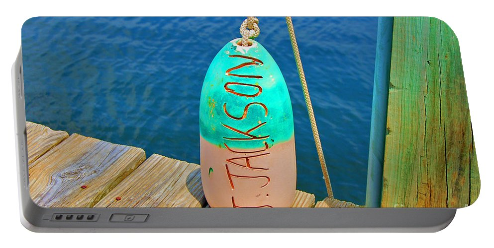 Water Portable Battery Charger featuring the photograph Its A Buoy by Debbi Granruth