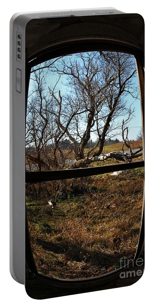 Perspective Portable Battery Charger featuring the photograph It's All A Matter Of Perspective by Amanda Barcon