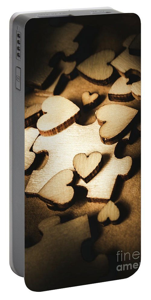 Puzzle Portable Battery Charger featuring the photograph Its Complicated by Jorgo Photography - Wall Art Gallery