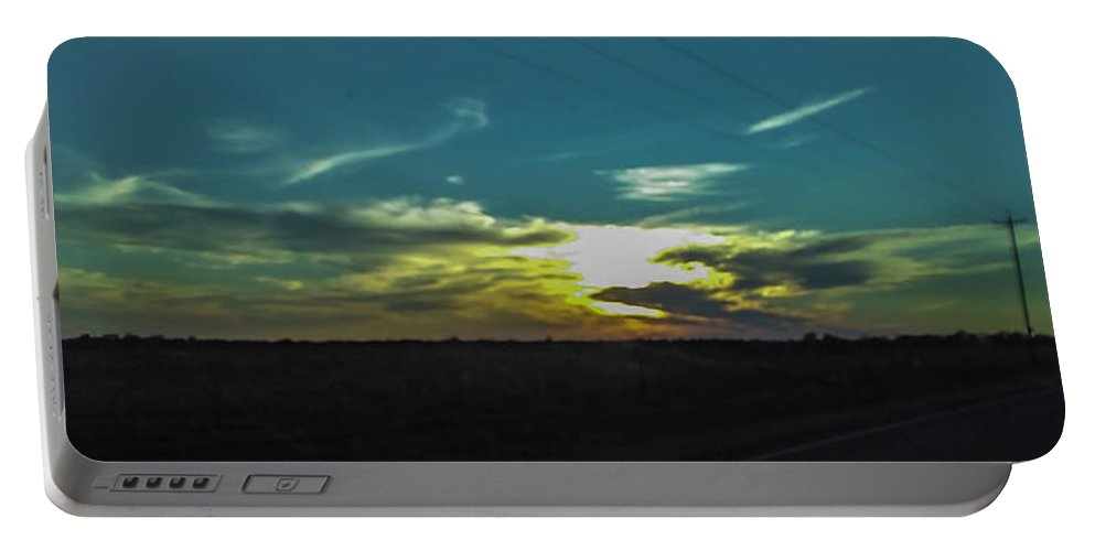 Landscape Portable Battery Charger featuring the photograph It's Starting by Marshall Barth