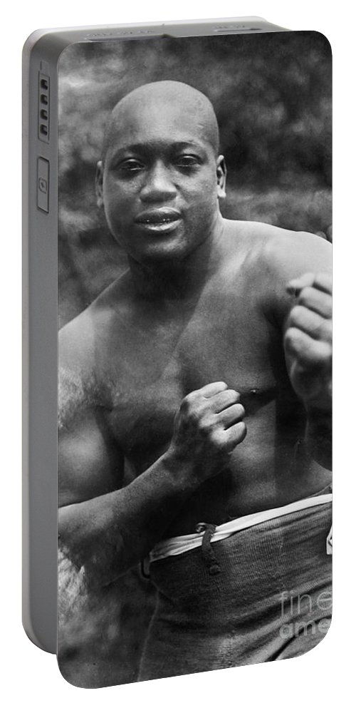 1910s Portable Battery Charger featuring the photograph Jack Johnson (1878-1946) by Granger