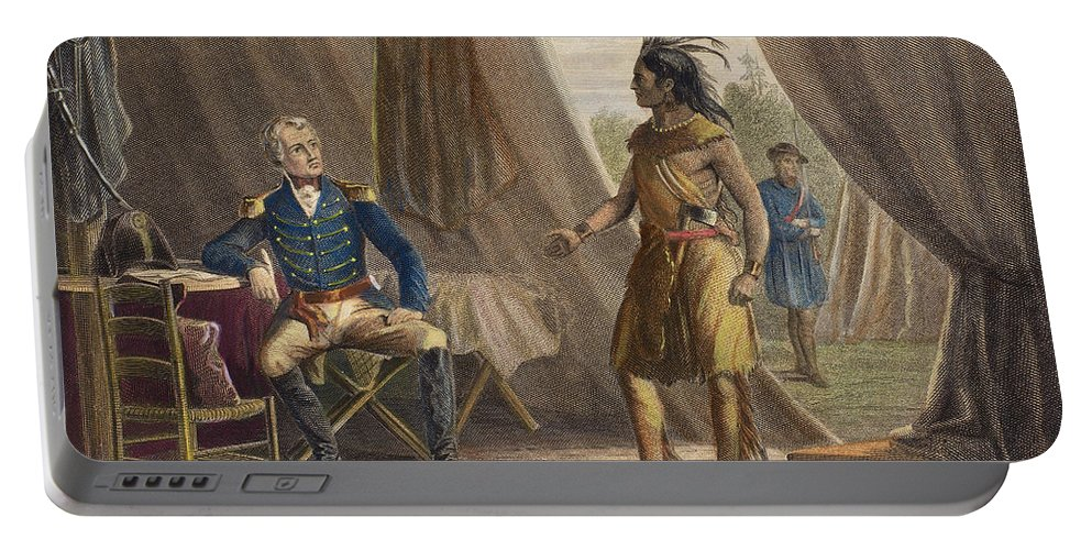 1814 Portable Battery Charger featuring the photograph Jackson & Weatherford by Granger