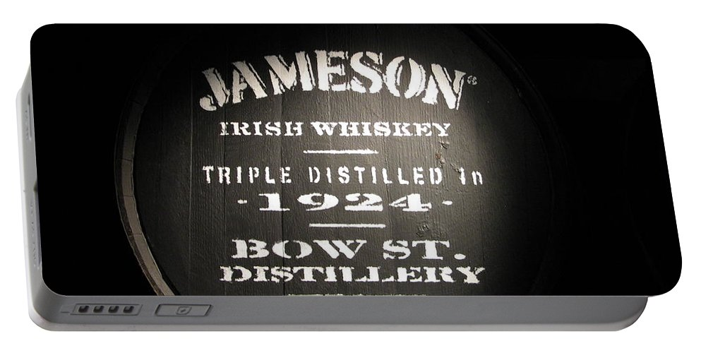 Jameson Portable Battery Charger featuring the photograph Jameson by Kelly Mezzapelle
