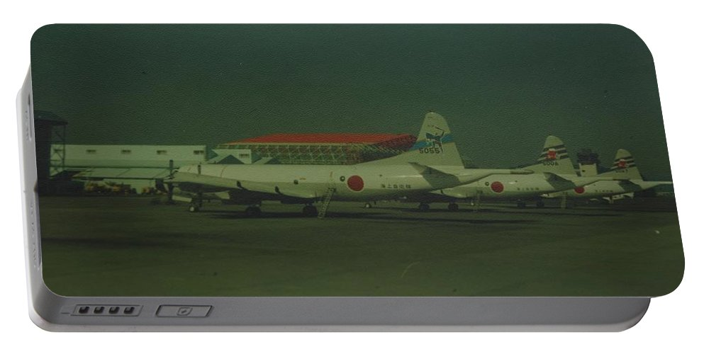 Airplane Portable Battery Charger featuring the photograph Japanese Airforce by Rob Hans