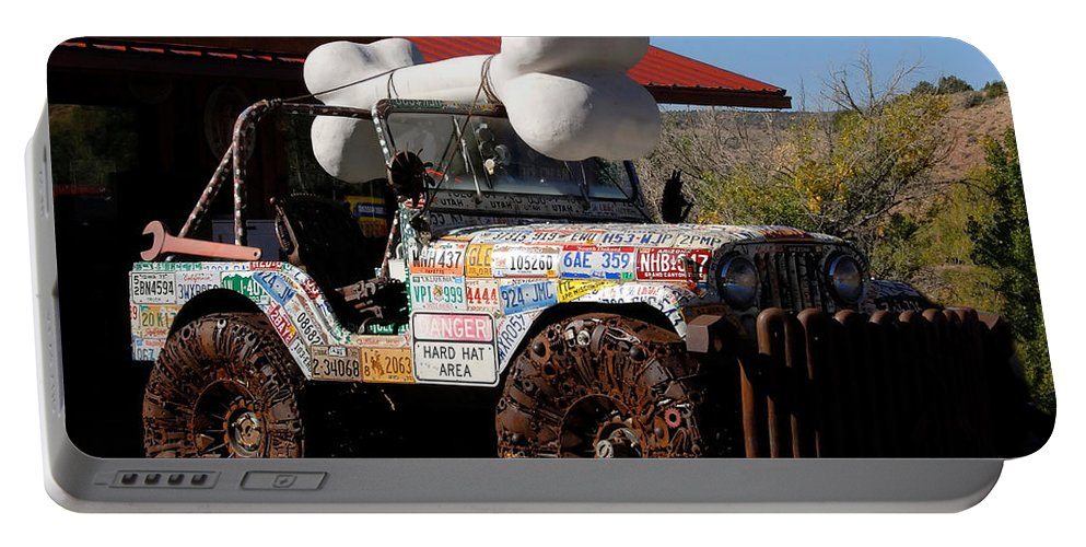 Jeep Portable Battery Charger featuring the photograph Jeep Art by David Lee Thompson