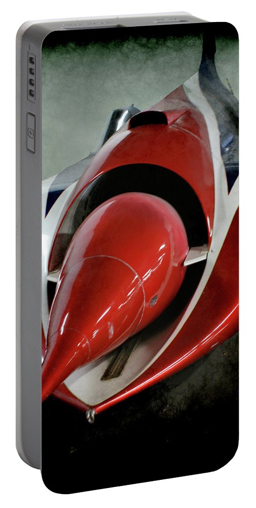 Jet Car Portable Battery Charger featuring the photograph Jet Car by Ernie Echols
