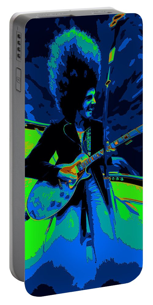 Journey Portable Battery Charger featuring the photograph Journey #18 Enhanced In Cosmicolors And Pinched by Ben Upham