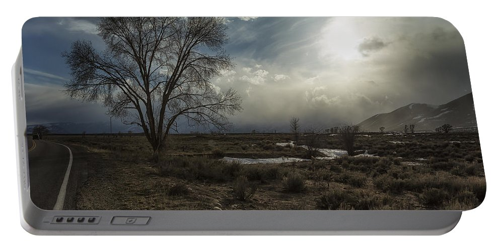 Tree Portable Battery Charger featuring the photograph Journey by Belinda Greb