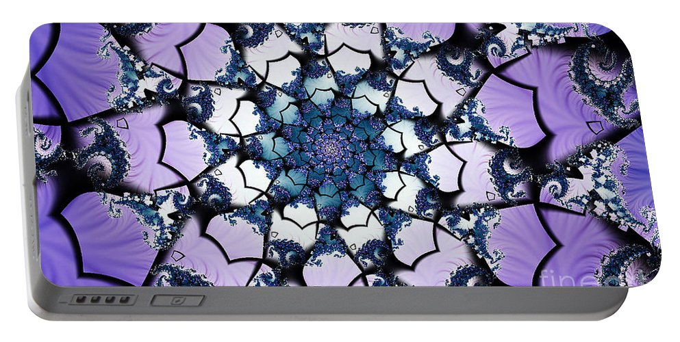Clay Portable Battery Charger featuring the digital art Julia by Clayton Bruster