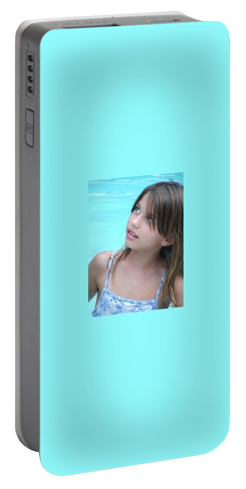 Portable Battery Charger featuring the photograph Julz by Michelle S White