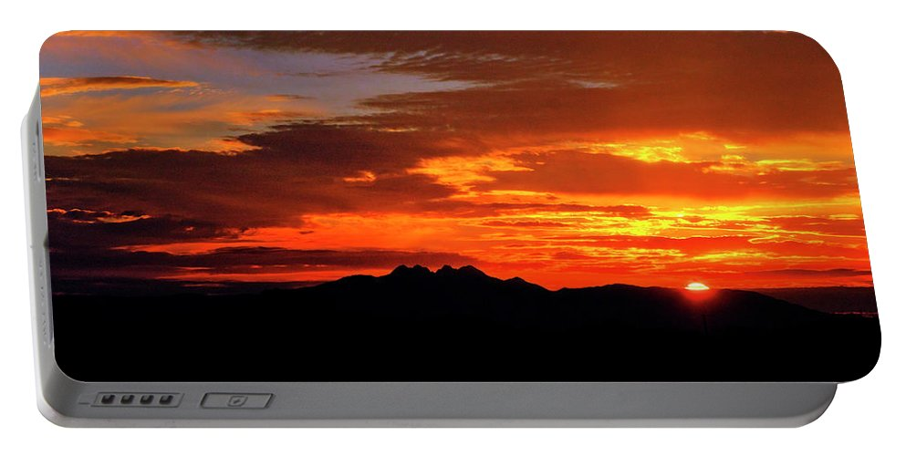 Arizona Portable Battery Charger featuring the photograph Just Beyond The Horizon by Saija Lehtonen