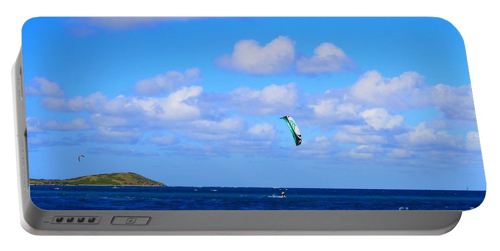 Kite Portable Battery Charger featuring the photograph Just Fun by John W Smith III