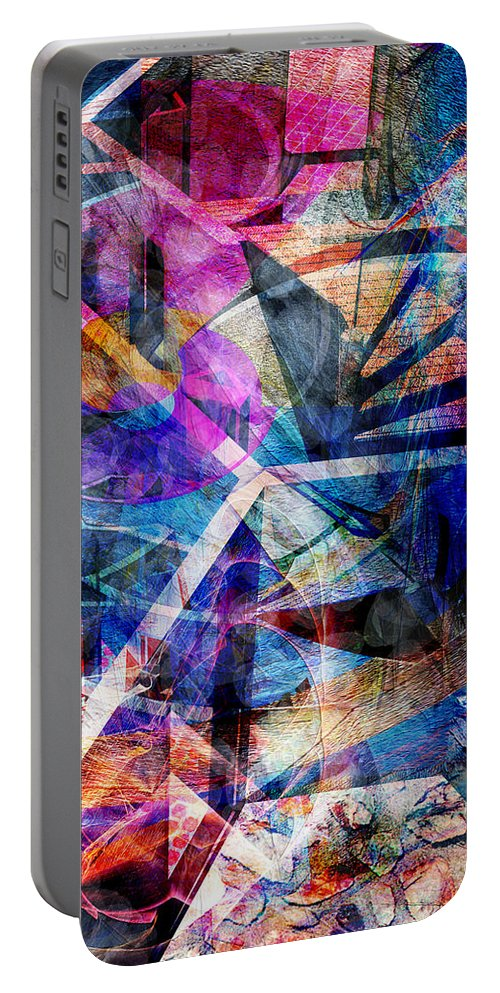 Just Not Wright Portable Battery Charger featuring the digital art Just Not Wright by John Beck