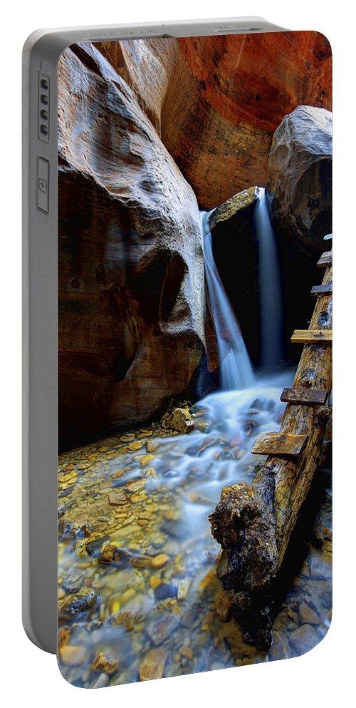 Kanarra Portable Battery Charger featuring the photograph Kanarra by Chad Dutson