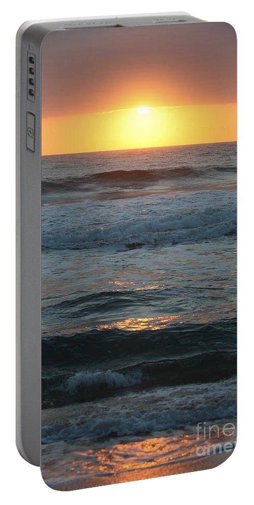 Kauai Portable Battery Charger featuring the photograph Kauai Sunrise by Nadine Rippelmeyer