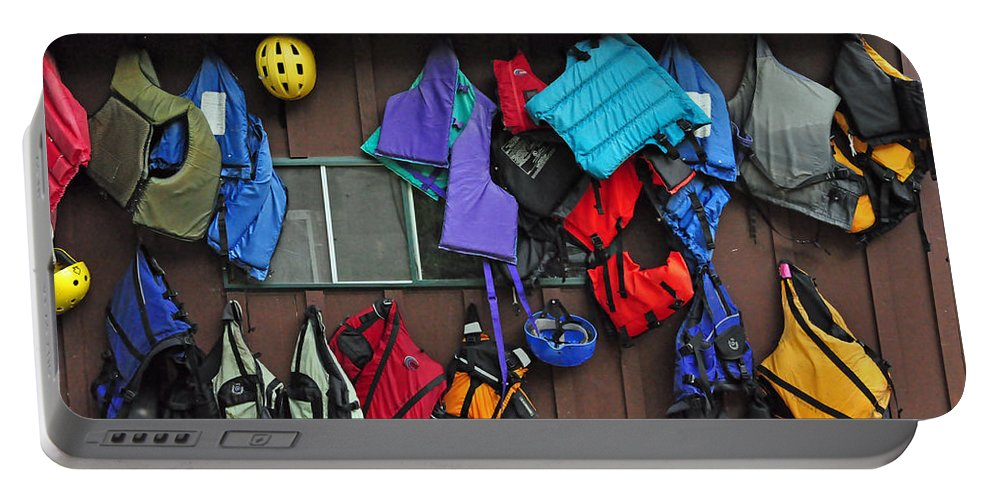 Kayaking Portable Battery Charger featuring the photograph Kayakers Dream by Glenn Gordon