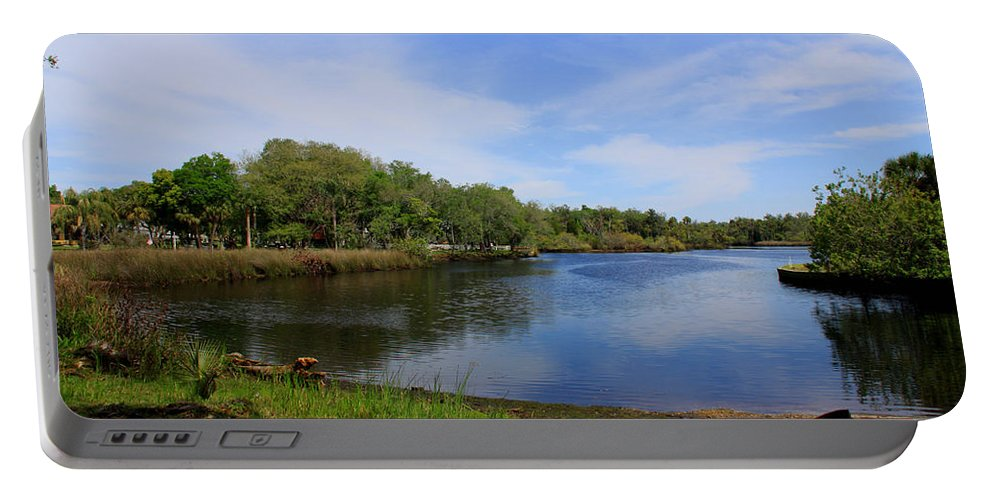 Cotee River Portable Battery Charger featuring the photograph Kayaking The Cotee River by Barbara Bowen