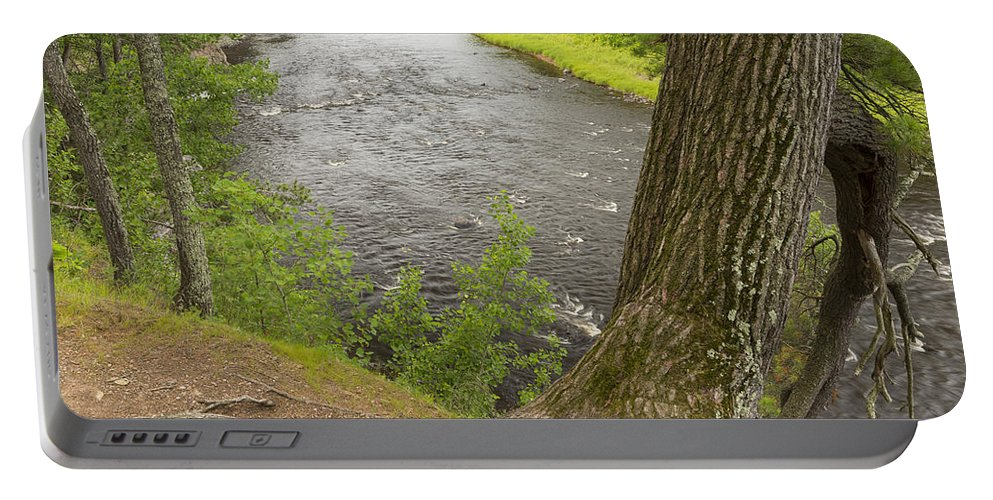 River Portable Battery Charger featuring the photograph Kettle River 3 by John Brueske