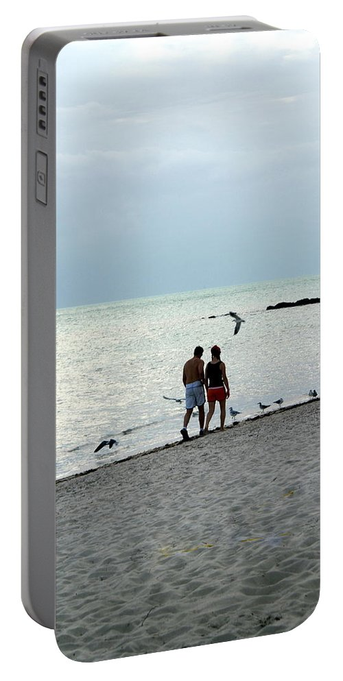 Kew West Portable Battery Charger featuring the photograph Key West by Marty Koch
