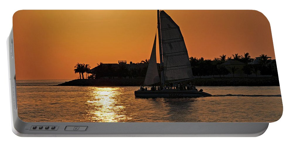 Key West Portable Battery Charger featuring the photograph Key West by Steven Sparks