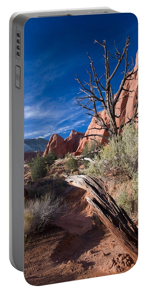 Kodachrome State Park Portable Battery Charger featuring the photograph Kodachrome Sunset by Mike Dawson