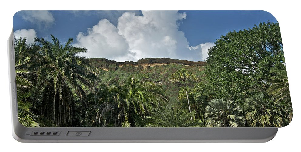 Landscape Portable Battery Charger featuring the photograph Koko Crater Trail by Michael Peychich