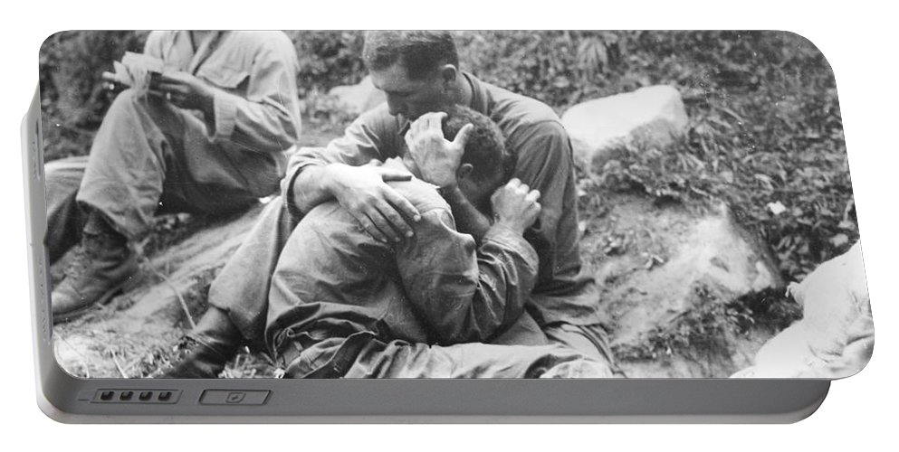 1950 Portable Battery Charger featuring the photograph Korean War, 1950 by Granger