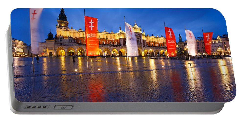Poland Portable Battery Charger featuring the photograph krakow 'XIII by Milan Gonda