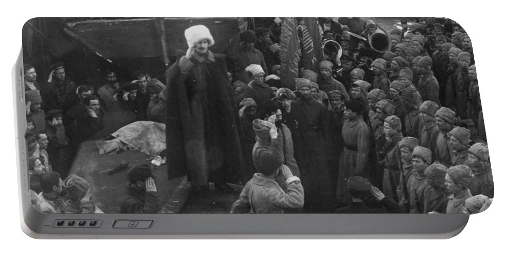 1921 Portable Battery Charger featuring the photograph Kronstadt Mutiny, 1921 by Granger