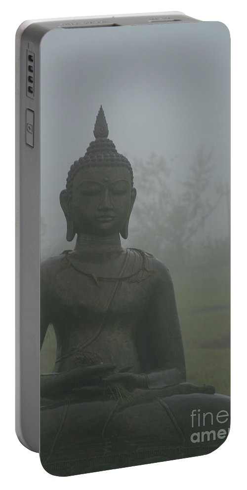 Aloha Portable Battery Charger featuring the photograph Kuan Yin Bodhisattva Guanyin Goddess Of Mercy by Sharon Mau