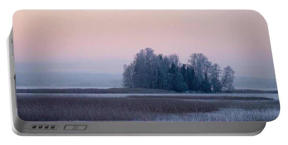 Lehtokukka Portable Battery Charger featuring the photograph Kulovesi 4 by Jouko Lehto