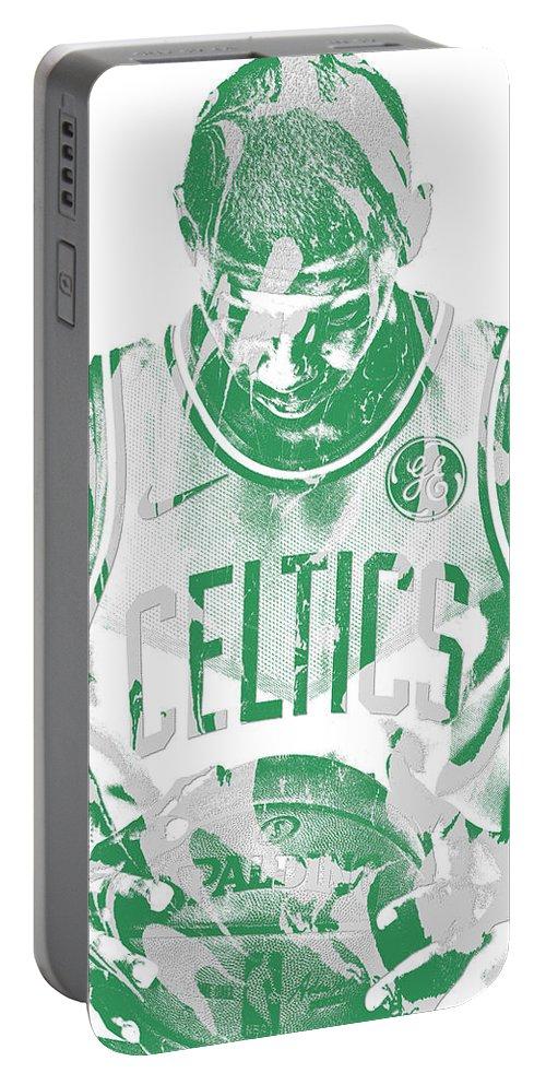 e0fa7f2fc64 Kyrie Irving Boston Celtics Pixel Art 5 Portable Battery Charger for Sale  by Joe Hamilton