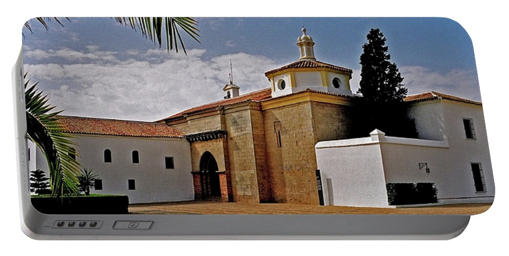 Europe Portable Battery Charger featuring the photograph La Rabida Monastery - Huelva by Juergen Weiss