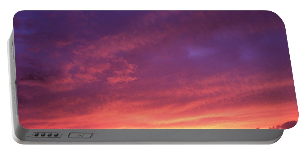 Sunset Portable Battery Charger featuring the photograph Laguna Sunset by George Cabig