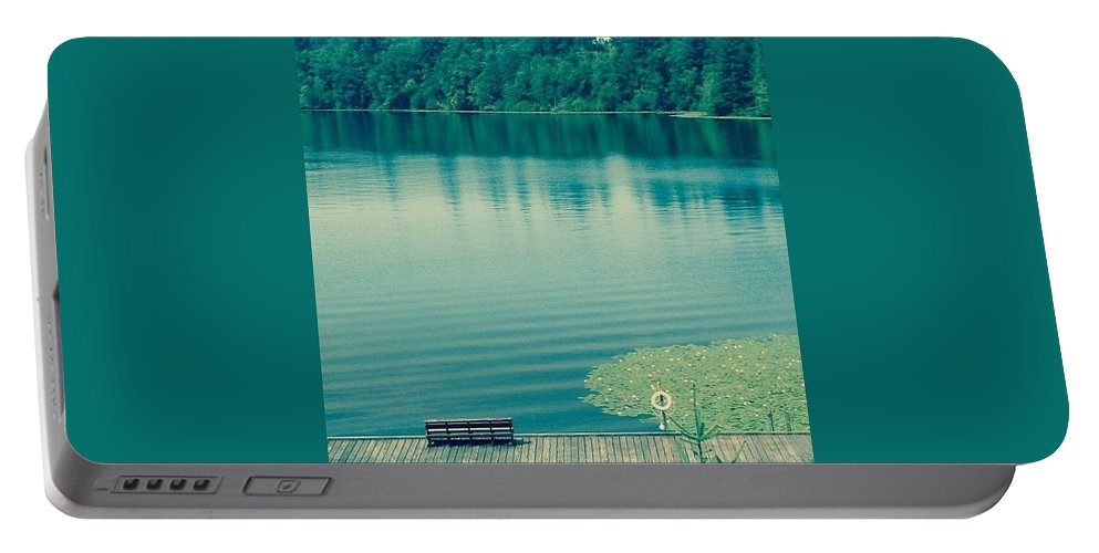 Lake Portable Battery Charger featuring the photograph Lake by Andrew Redford