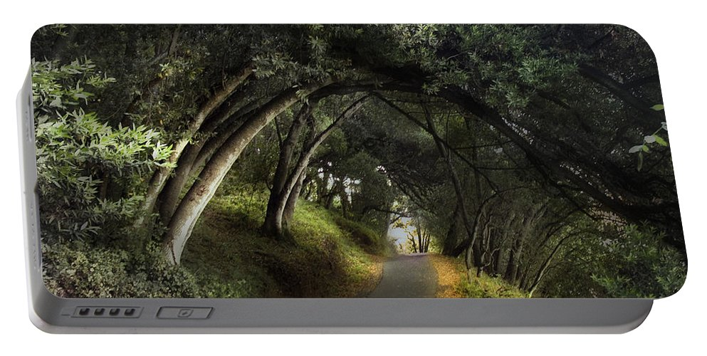 Landscapes Portable Battery Charger featuring the photograph Lake Chabot by Karen W Meyer