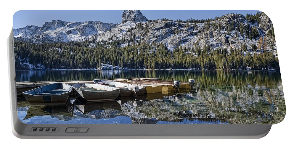 Water Portable Battery Charger featuring the photograph Lake George by Kelley King
