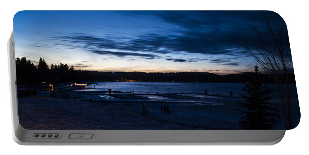 Mccall Portable Battery Charger featuring the photograph Lake Payette by Angus Hooper Iii