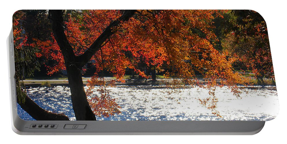 Landscape Portable Battery Charger featuring the photograph Lakewood by Steve Karol