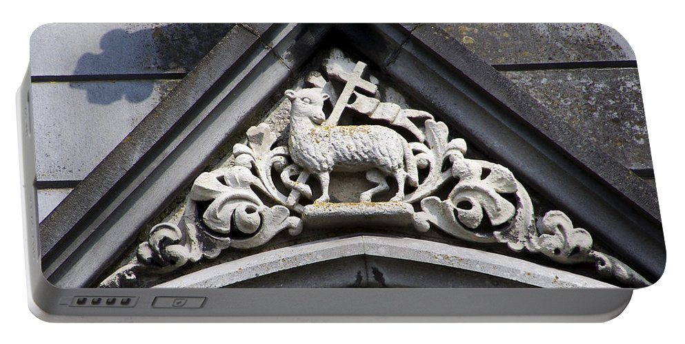 Ireland Portable Battery Charger featuring the photograph Lamb Of God by Teresa Mucha
