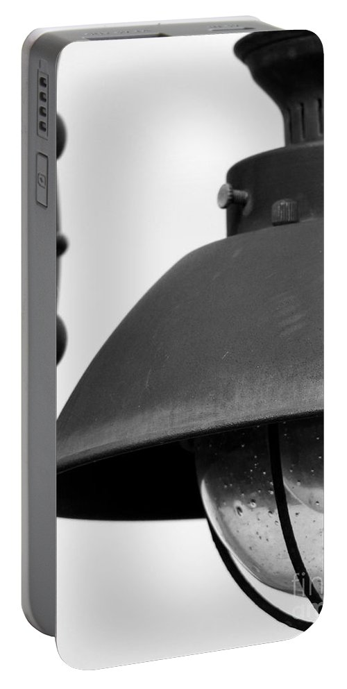 Lamppost Portable Battery Charger featuring the photograph Lamp Post by Amanda Barcon