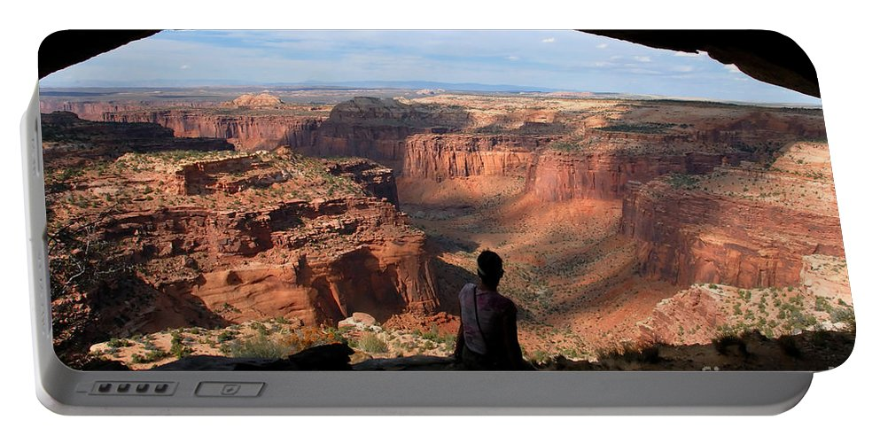 Canyon Lands National Park Utah Portable Battery Charger featuring the photograph Land Of Canyons by David Lee Thompson