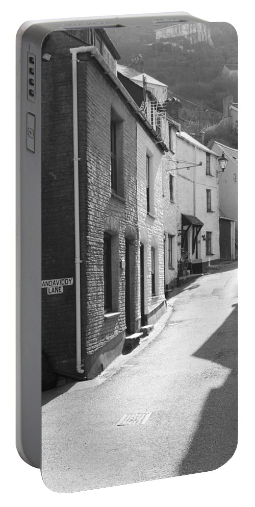 Street Portable Battery Charger featuring the photograph Landaviddy Lane by Lauri Novak