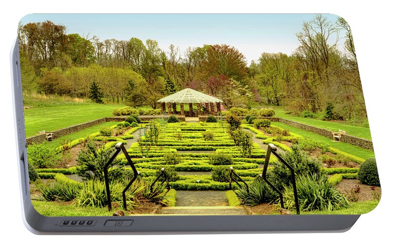 Landscape At Deep Cut Gardens Middletown New Jersey Portable Battery ...