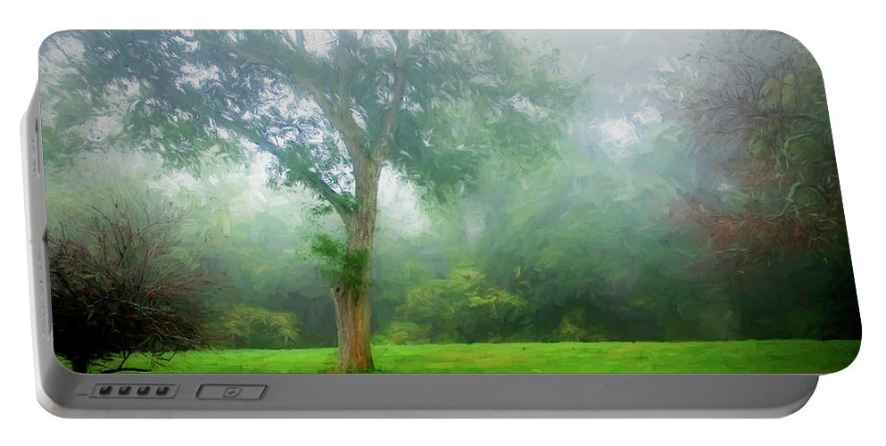 Photography Portable Battery Charger featuring the digital art Landscape Beauty by Terry Davis